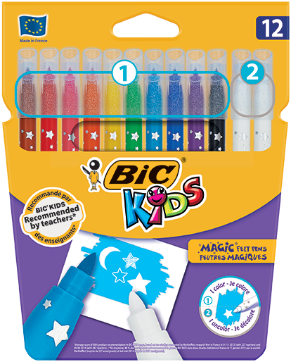 COLOUR & ERASE felt pens