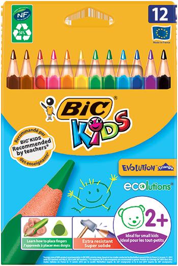 EVOLUTION™ TRIANGLE colouring pencils